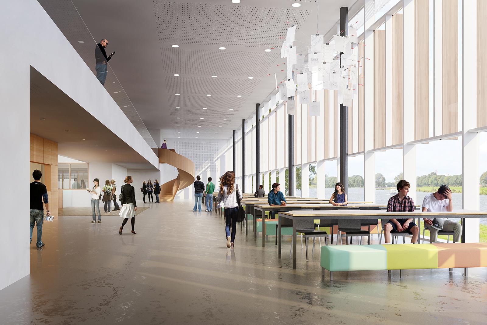 Merlet-College-rendering-kantine