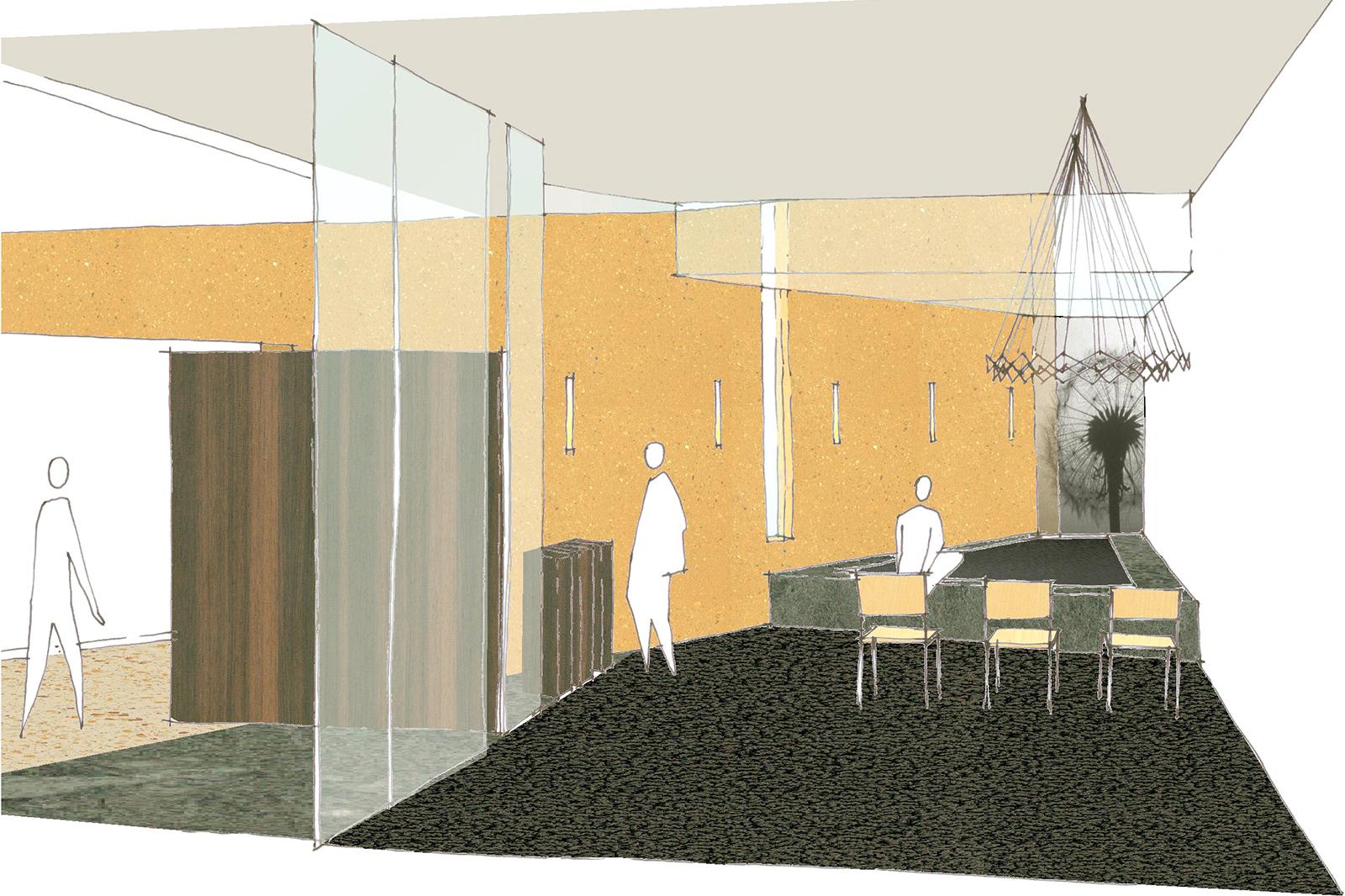 Deventer-Ziekenhuis-schets-stiltecentrum
