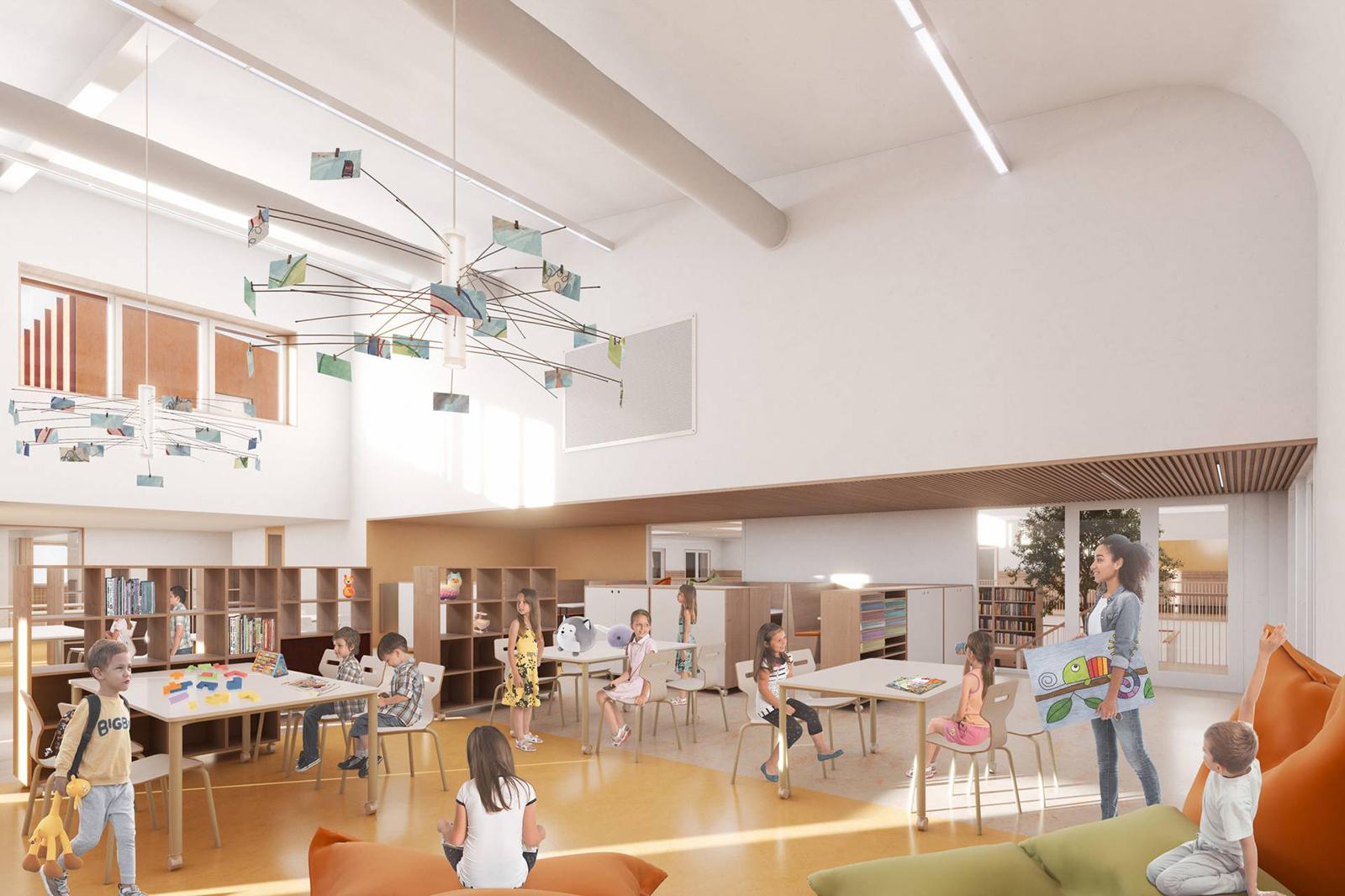 StM-AMA-Kindcentrum-De-Samenstroom-render-bovenbouwcluster